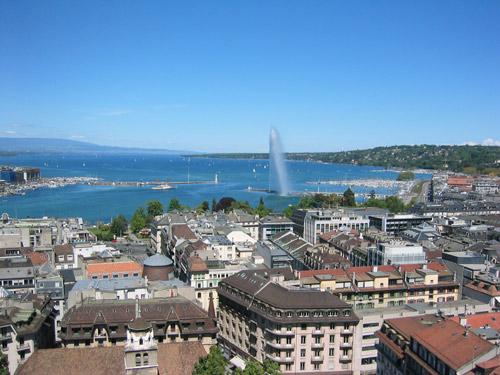 La Rade à Genève